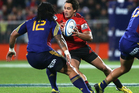 Zac Guildford of the Crusaders in action during the round 10 Super Rugby match between the Crusaders and the Highlanders. Photo / Getty Images.