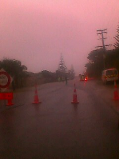 flooding at karewa parade papamoa