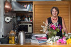 Cookbook author Lauraine Jacobs in her kitchen at home. Photo / Richard Robinson