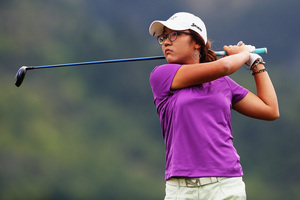 Lydia Ko is in touch of a a top-20 finish with a round to play at the LPGA tour event in Hawaii. Photo / Getty Images.