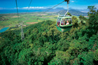 There's something for everyone in northern Queensland. Soar over kilometers of untouched rainforest on the Skyrail Cableway or snorkel at Green Island. Photo / Supplied