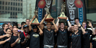 View: Breakers celebrate at SkyCity