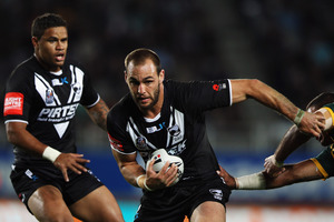 Simon Mannering's injury will stop him playing against Melbourne. Photo / Getty Images