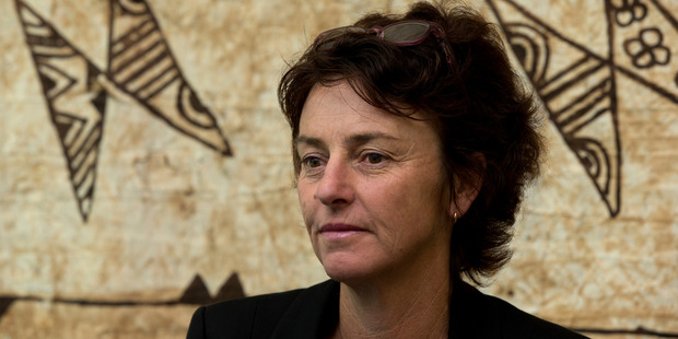 Dame Susan Devoy is a weird mix of supreme confidence and chronic and observable nervousness. Photo / Brett Phibbs