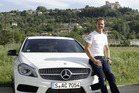 Michael Schumacher is continuing his relationship with Mercedes-Benz. Photo / Supplied