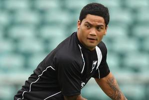 Issac Luke will be a key player for the Kiwis on Friday night. Photo / Getty Images