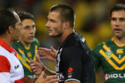 Kieran Foran dealt with the captaincy with composure beyond his years. Photo / Getty Images