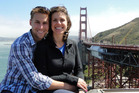 Recently married couple Patrick and Jessica Downes were both injured in the Boston marathon bombing. Photo / Supplied