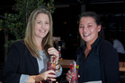 Renee Cornwall and Debbie Clifford enjoy a couple of Rekorderlig ciders at Sale St bar. Photo / Sarah Ivey
