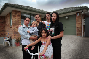 Housing NZ has now told Cathie Leathart's family they can stay. Photo / Doug Sherring