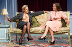 Robyn Malcolm and Hera Dunleavy in Midnight in Moscow. Photo / Michael Smith