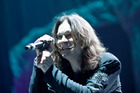 Ozzy Osbourne had energy to burn. Photo / Neville Marriner