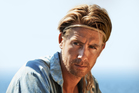 Pal Sverre Hagen as Thor Heyerdahl. Photo / Supplied