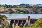 The dam on Lake Karapiro for the Mighty River Power Hydro-electric power station. Photo / Grant Bradley