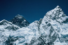 The icy peaks of Mt Everest. Photo / Supplied