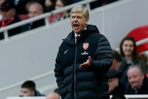 Arsenal manager Arsene Wenger. Photo / AP
