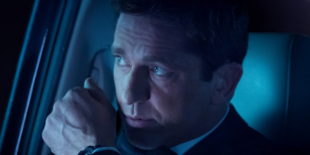 Gerard Butler in a scene from Olympus Has Fallen. Photo / AP