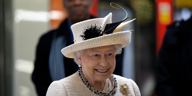 The Queen, who was born in 1926, is 87 today. Photo / AP