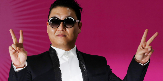 Loading Psy's new single 'Gentleman' has recieved over 30 million views on YouTube . Photo / AP