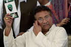 Pakistan's former President and military ruler Pervez Musharraf in Islamabad, Pakistan. Photo / AP
