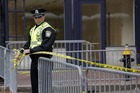 Security has been stepped up across the heart of Boston after the bombs exploded near the finish line of the marathon on Tuesday. Photo / AP