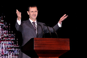 Syrian President Bashar Assad. Photo / AP