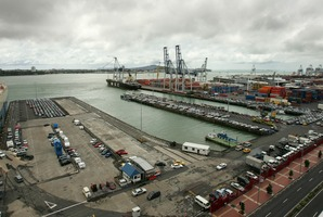 Ports of Auckland. Photo / Brett Phibbs