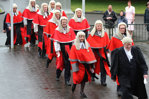 Men dominate the New Zealand judiciary, and it's a similar situation in other developed countries. Photo / Mark Mitchell