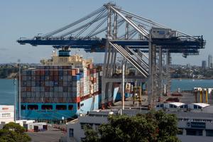Auckland port. Photo / APN