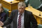 National Party MP Maurice Williamson during the final reading of the Marriage Amendment Bil. Photo / Mark Mitchell