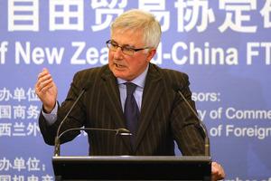 Minister of Trade Tim Groser. Photo / NZ Herald