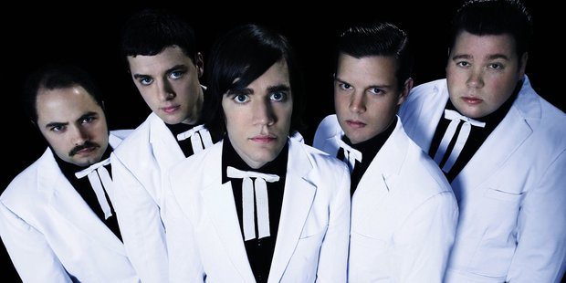 Swedish rock band The Hives, have to pay out millions to The Cardigans. Photo / Supplied