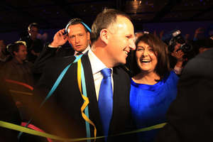 John Key believes he is creating a stronger economy. Photo / Greg Bowker
