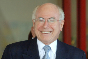 Former Liberal Prime Minister John Howard. Photo / NZPA