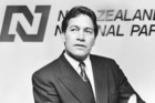 Winston Peters' suit has been a trademark since the early days. Photo / Martin Hunter