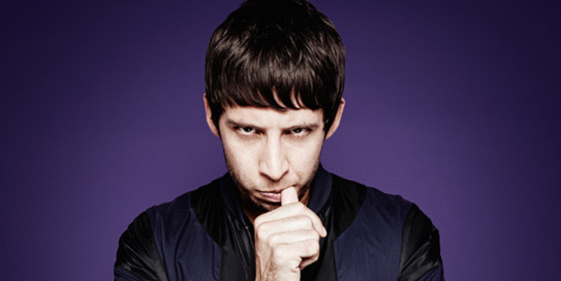 British musician Example. Photo / Supplied