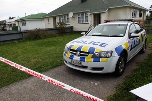 The baby is believed to have been injured at this flat in Wairoa. Photo / Paul Taylor