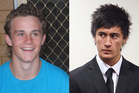 Jesse Howe (left) and Aaron Gourlay (right). Photos / APN
