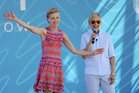 Ellen Degeneres, right, and her wife Portia de Rossi. Photo/AP