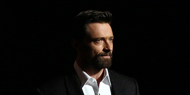 Hugh Jackman at the Oscars. Photo/AP