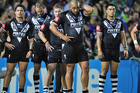 New Zealand are missing four of their best players heading into tonight's Anzac test. Photo / Getty Images