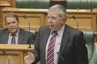 Pakuranga MP Maurice Williamson has parliamentarians roaring in their seats during the third marriage equality bill reading.