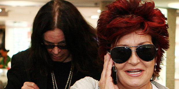 Sharon and Ozzy Osbourne. Photo/Wayne Drought