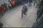 The FBI has released photos of two suspects in the Boston Marathon bombings and is asking for the public's help in identifying them.
