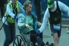 At least two people were killed and 23 others wounded when two explosions struck near the finish line of the Boston Marathon on Monday, sparking scenes of panic, police said. Police did not immediately say whether the explosions were part of a terrorist attack, but marathon organizers said it was a twin bombing, and media outlets reported that other unexploded devices had been found nearby
