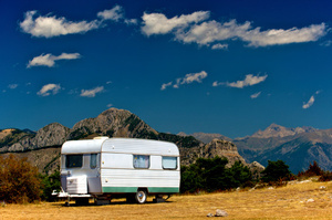 The 'Land Yacht' luxury caravan is a new creation for traveling in style. Photo / Thinkstock