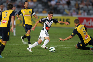 Marco Rojas has excelled in a variety of attacking positions at Melbourne Victory. Photo / Getty Images