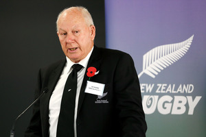 'This is a wonderful opportunity for me to give back to New Zealand rugby which has served me well over many decades' - Ian MacRae. Photo / Getty Images