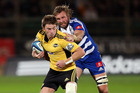 Beauden Barrett should be left to direct play. Photo / Getty Images