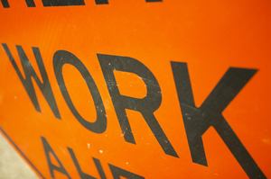 The NZ Transport Agency says the 'work zone ahead' and temporary speed limit signs will be removed in the next few weeks. Photo / Getty Images
